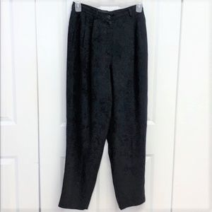 Focus 2000 Lined Dress Pants Size 10 Black